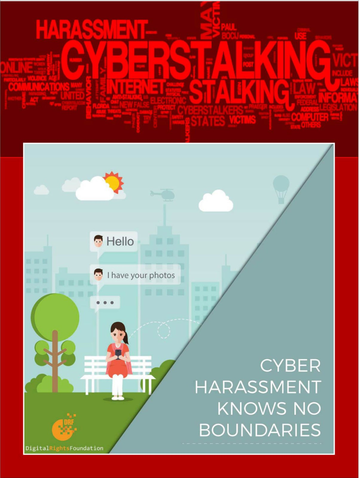 digital rights foundation › harassment as a legal concept in cyber law