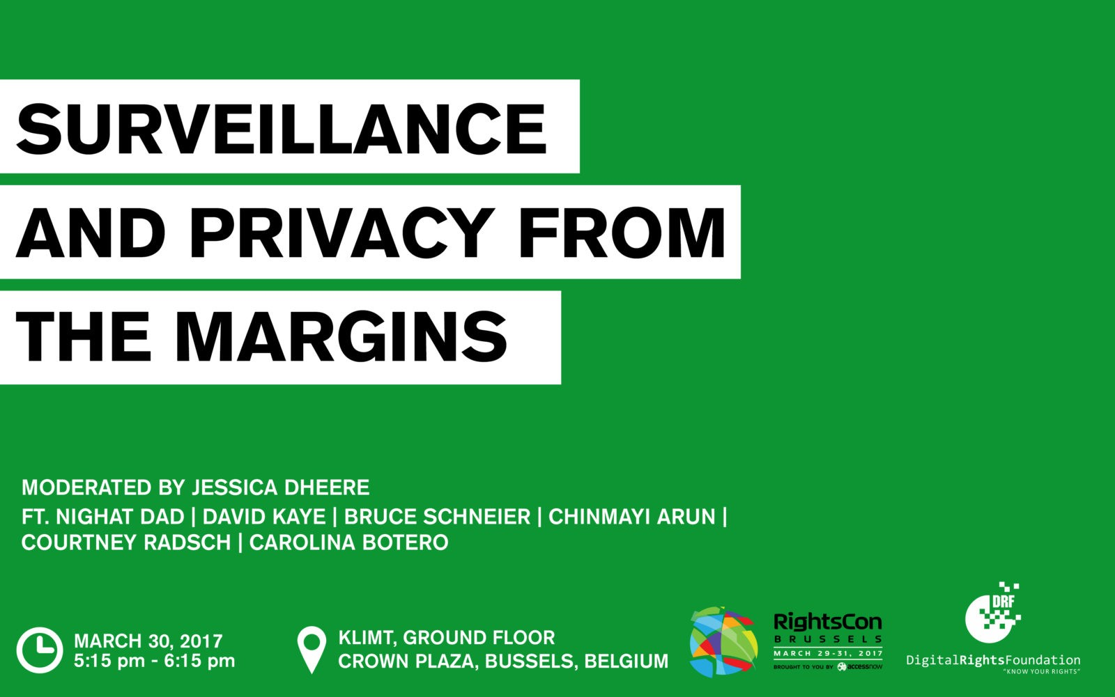 Surveillance Panel Poster
