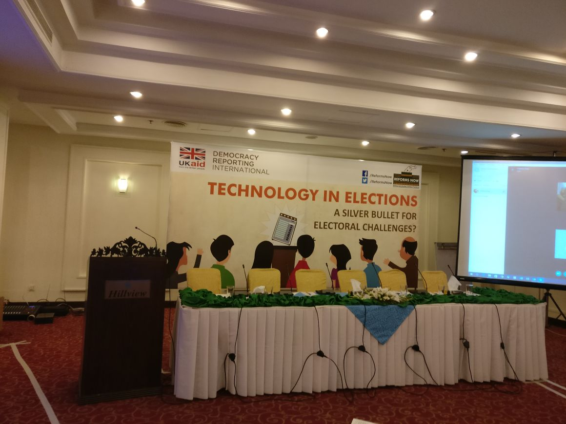 Technology in Elections panel