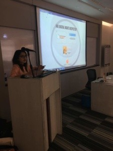 Hija Kamran briefs journalists on Digital Rights at IBA