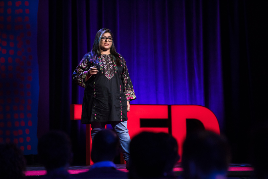Nighat Dad speaks at TEDGlobal 2017