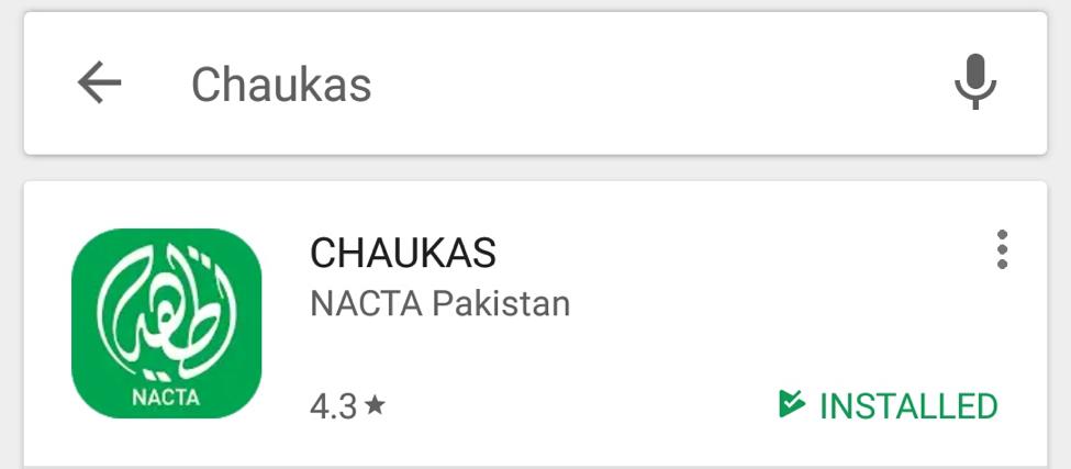 Chaukas 1