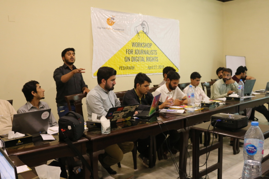 Workshop for journalists on Digital Rights