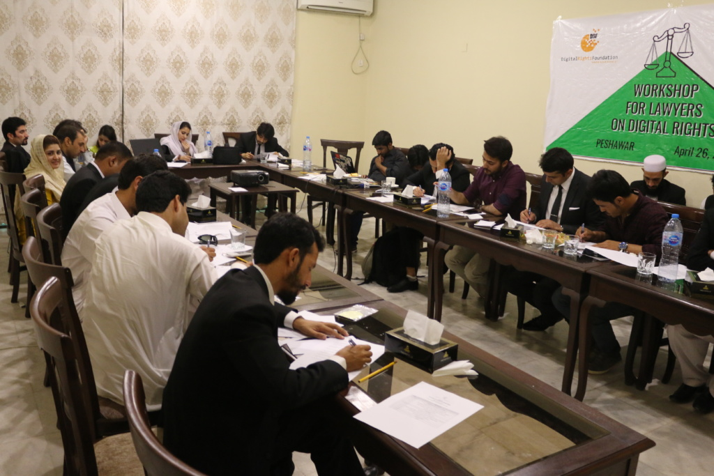 Workshop for lawyers on digital rights